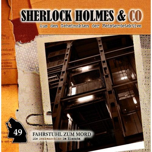 Folge 49: Fahrstuhl zum Mord von Sherlock Holmes & Co