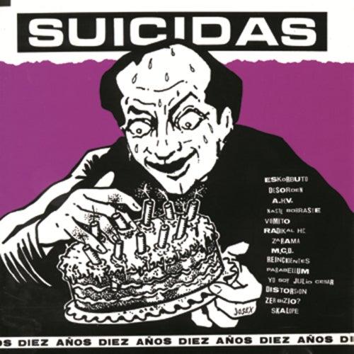 Discos Suicidas 10 años de German Garcia