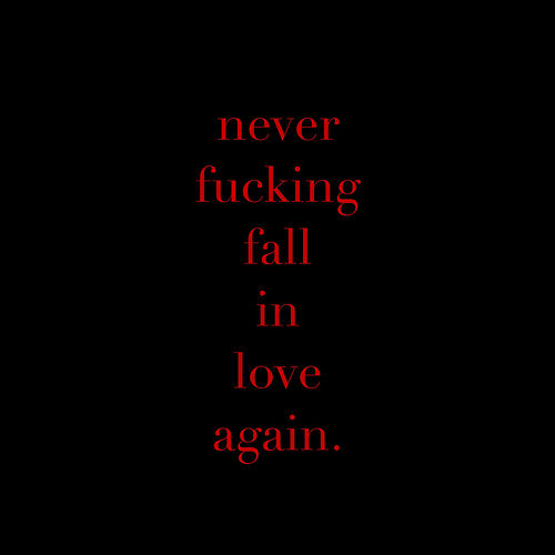 Never Fucking Fall in Love Again von X Lovers