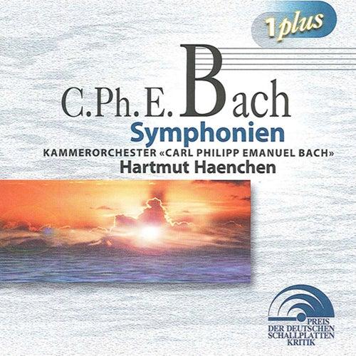 Bach, C.P.E.: Sinfonias von Hartmut Haenchen