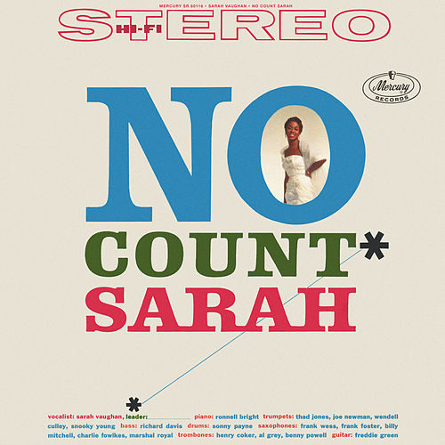 No Count Sarah de Sarah Vaughan