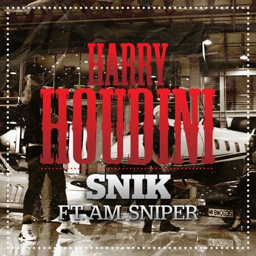 Harry Houdini by Snik