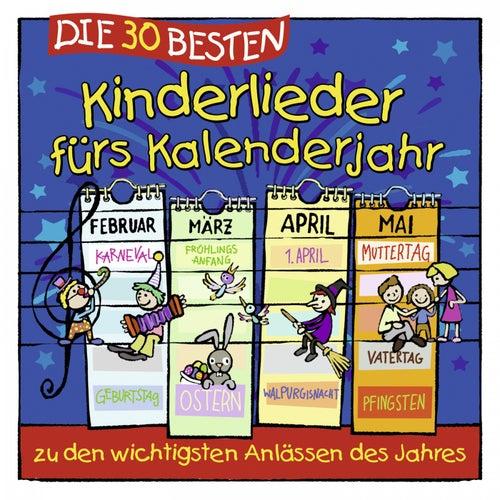 Die 30 besten Kinderlieder fürs Kalenderjahr de Simone Sommerland