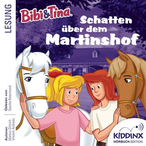 Hörbuch: Schatten über dem Martinshof (Ungekürzt) von Bibi & Tina