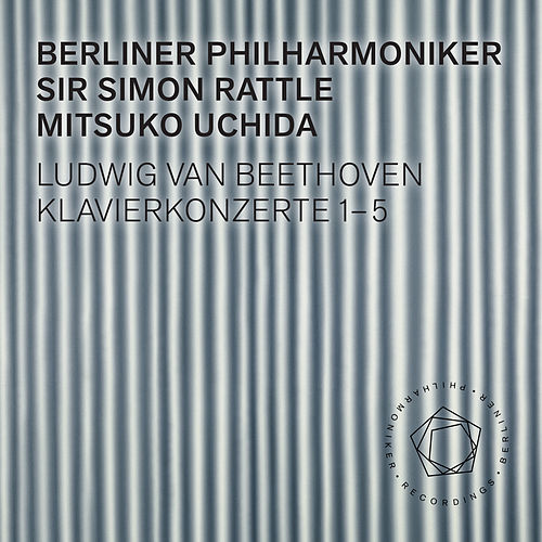 Beethoven: Piano Concertos 1-5 by Berliner Philharmoniker