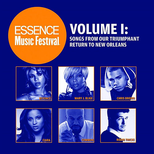 Essence Music Festival, Vol. 1: Songs From Our Triumphant Return to New Orleans by Various Artists