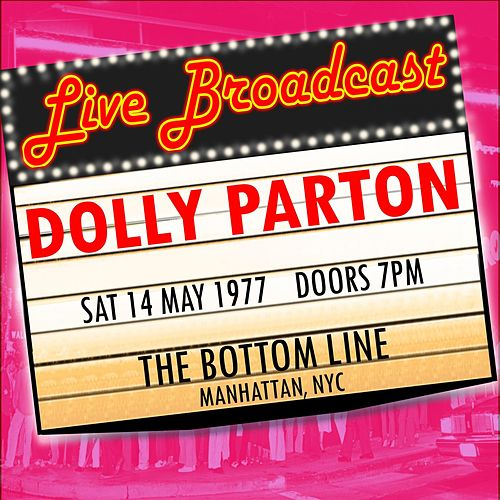 14 May 1977 The Bottom Line, Manhattan NYC van Dolly Parton