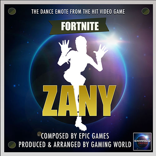 Zany Dance Emote (From
