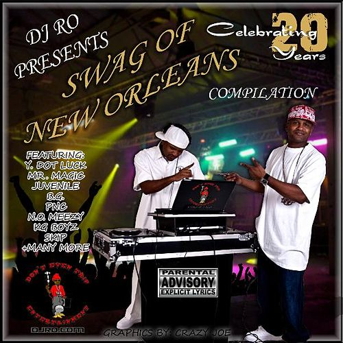 DJ Ro Presents The Swag Of New Orleans Compilation von Various Artists