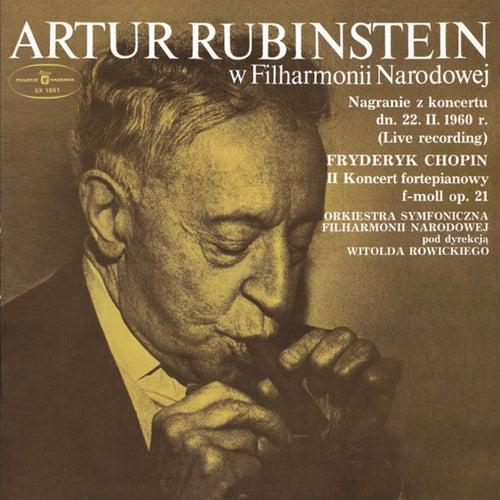 Artur Rubinstein w Filharmonii Narodowej de Artur Rubinstein