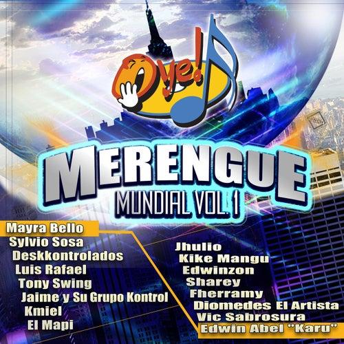 Oye Merengue Mundial, Vol. 1 de Various Artists