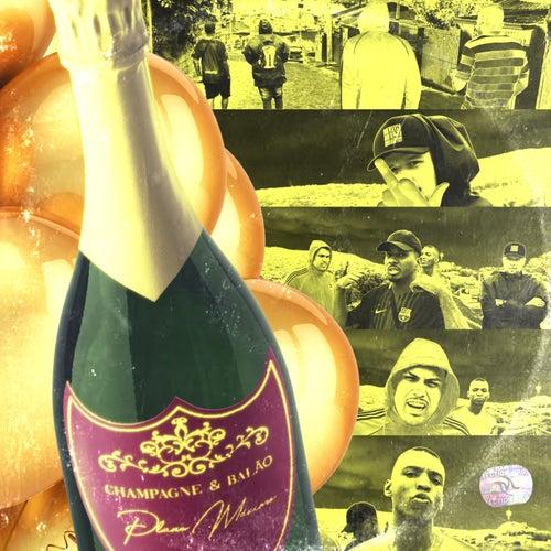 Champagne & Balão de Plano M