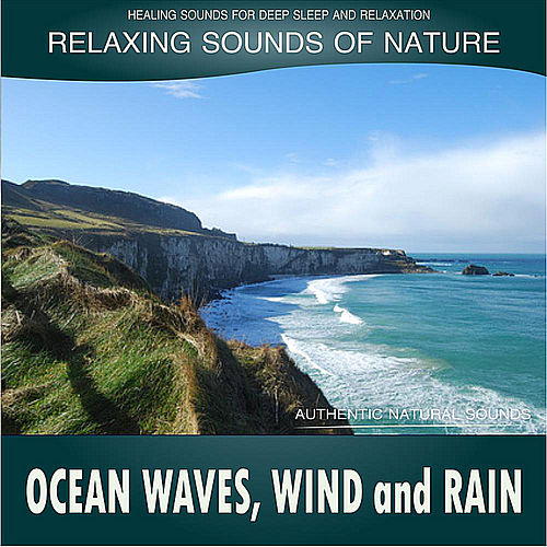 Ocean Waves, Wind and Rain: Relaxing Sounds of Nature de Healing Sounds for Deep Sleep and Relaxation