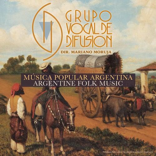 Música Popular Argentina de Grupo Vocal de Difusión