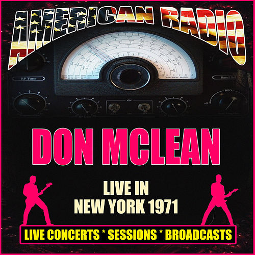 Live in New York 1971 (Live) de Don McLean