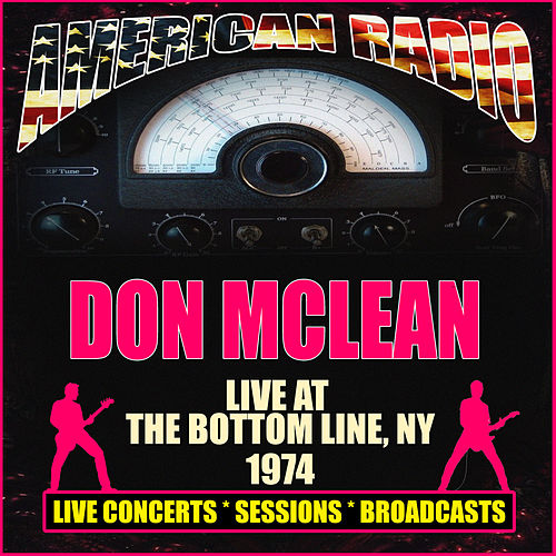 Live At The Bottom Line, NY 1974 (Live) de Don McLean