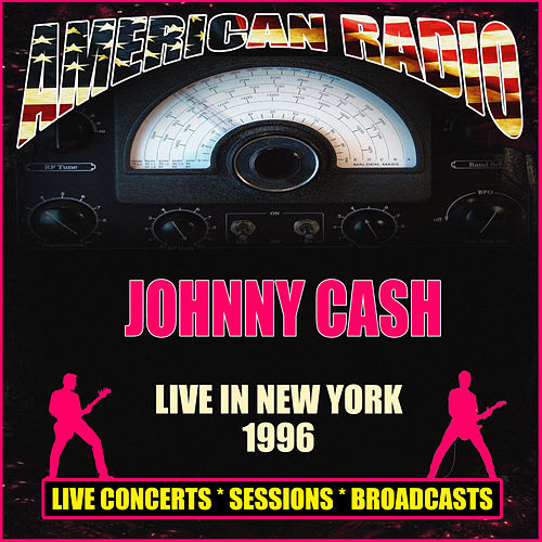 Live in New York 1996 (Live) van Johnny Cash