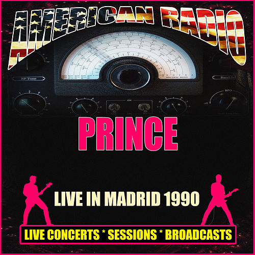 Live in Madrid 1990 (Live) de Prince