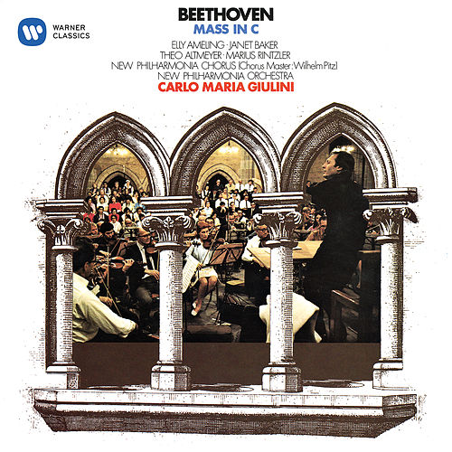 Beethoven: Mass in C Major, Op. 86 by Carlo Maria Giulini