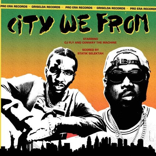CITY WE FROM de CJ Fly