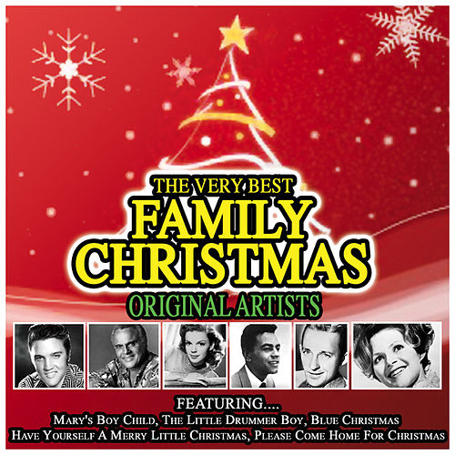 The Very Best Family Christmas Album…Original Artists by Various Artists