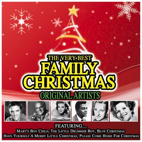 The Very Best Family Christmas Album…Original Artists de Various Artists
