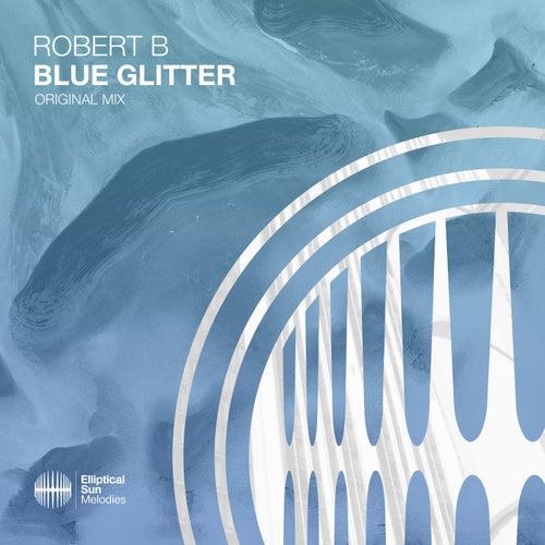 Blue Glitter by Robert B