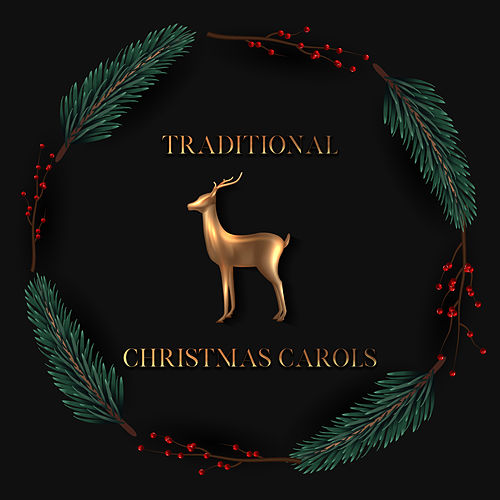 Traditional Christmas Carols (Instrumental Background Music) by The Merry Christmas Players