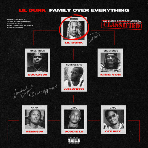 Family Over Everything von Lil Durk & Only The Family