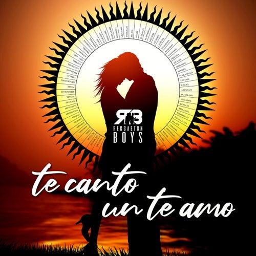 Te Canto un Te Amo de The Reggaeton Boys