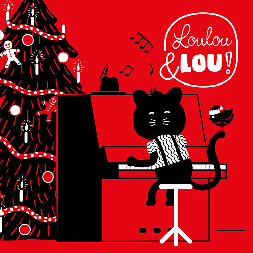 Vánoční Písně de Jazz Kočka Louis Hudba Pro Děti