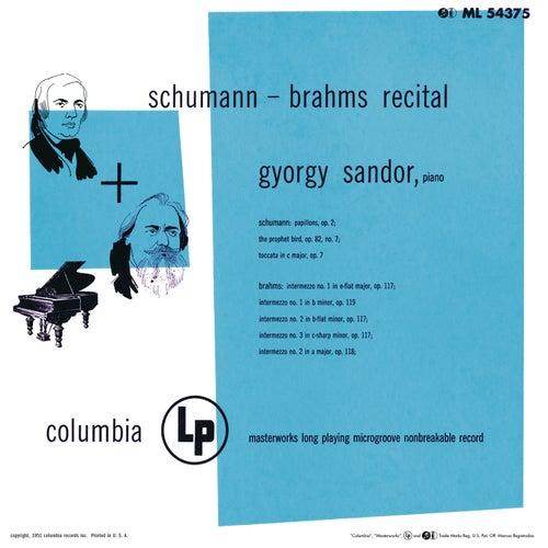 Sándor Plays Schumann & Brahms (Remastered) by György Sandor