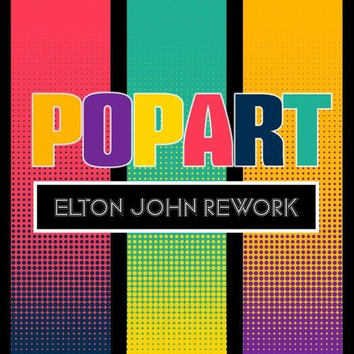 Elton John Rework by Pop Art