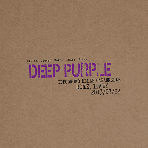 Live in Rome 2013 de Deep Purple
