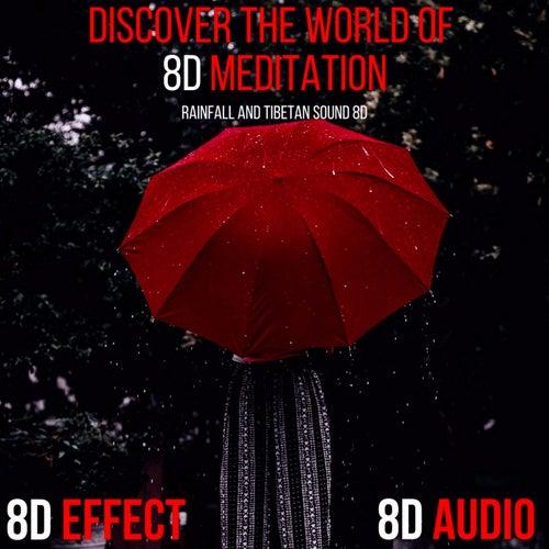 Discover the World of 8d Meditation (Rainfall and Tibetan Sound 8d) von 8d Effect