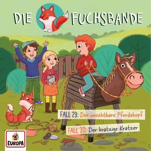 015/Fall 29: Der unsichtbare Pferdekopf/Fall 30: Der kratzige Kratzer von Die Fuchsbande