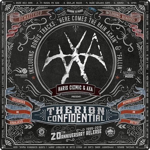 Therion Confidential (20th Anniversary Remastered) by Haris Cizmic
