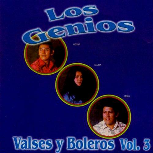 Valses y Boleros Vol. 3 Cd-3609 by Los Genios