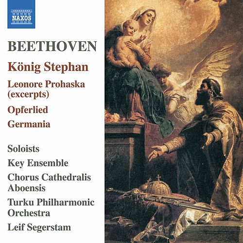 Beethoven: König Stephan & Other Choral Works von Turku Philharmonic Orchestra