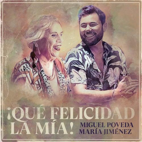 ¡Qué Felicidad La Mía! (30 Años En La Música) by Miguel Poveda