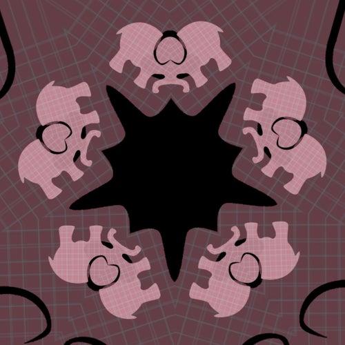 Pink Elephants von Khuba