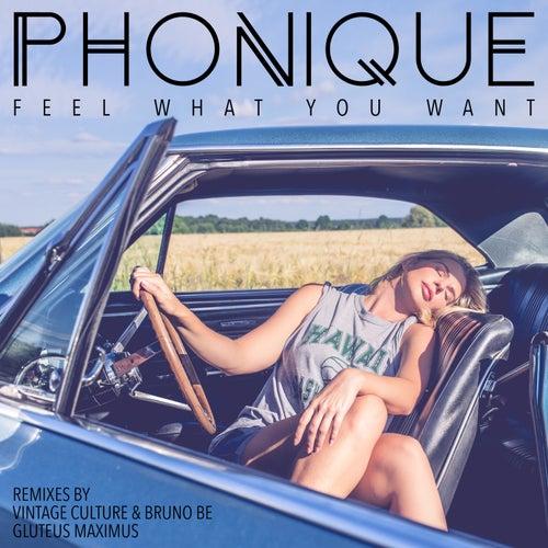 Feel What You Want - Vintage Culture & Bruno Be and Gluteus Maximus Remixes de Phonique