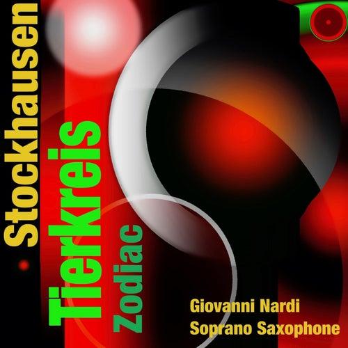 Stockhausen: Tierkreis for Saxophone by Giovanni Nardi
