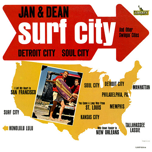 Surf City And Other Swingin' Cities de Jan & Dean