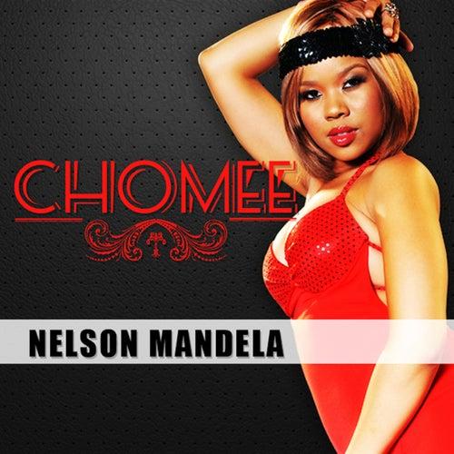 Nelson Mandela by Chomee