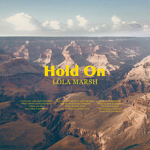 Hold On by Lola Marsh