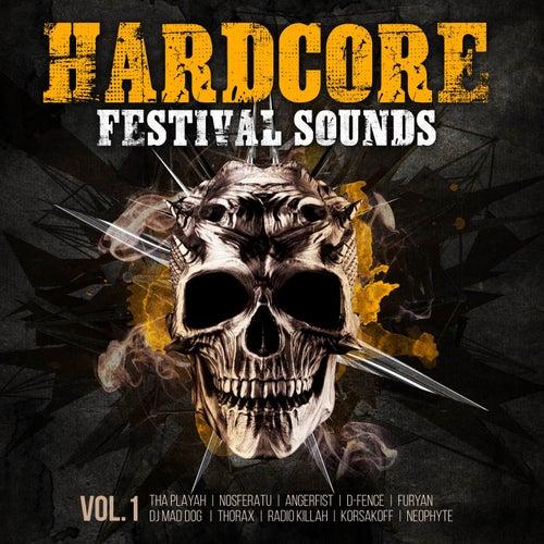 Hardcore Festival Sounds, Vol. 1 de Various Artists