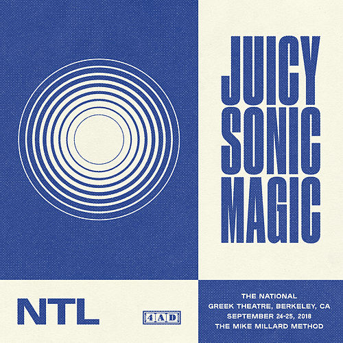 Juicy Sonic Magic, Live in Berkeley, September 24-25, 2018 by The National