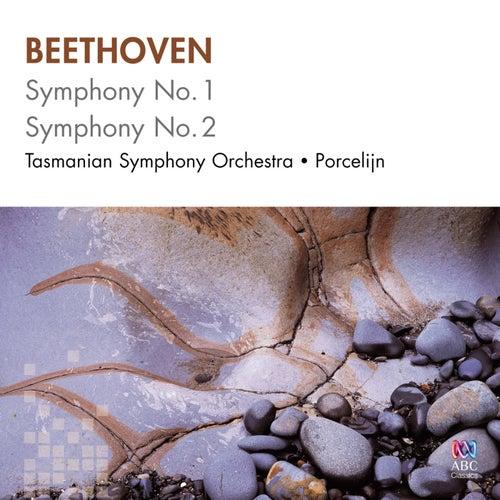 Beethoven: Symphony No. 1, Symphony No. 2 de Tasmanian Symphony Orchestra