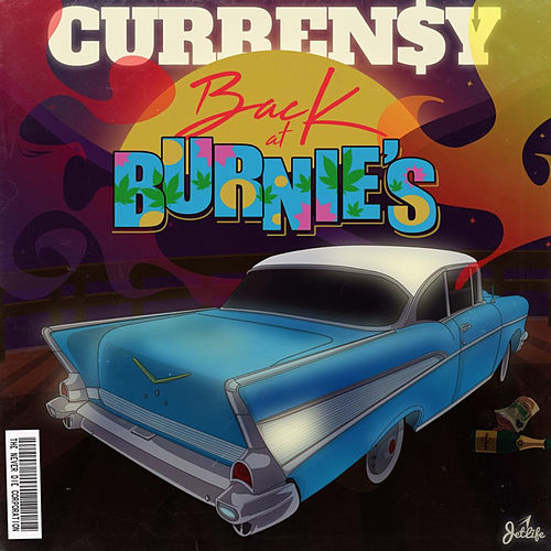 Back at Burnie's von Curren$y
